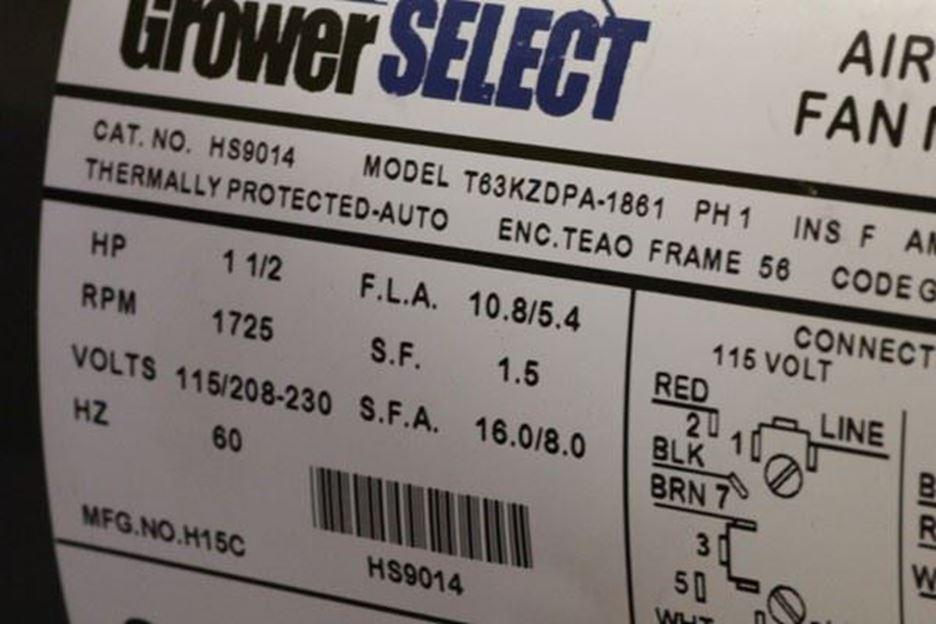 Selecting Ag Replacement Motors