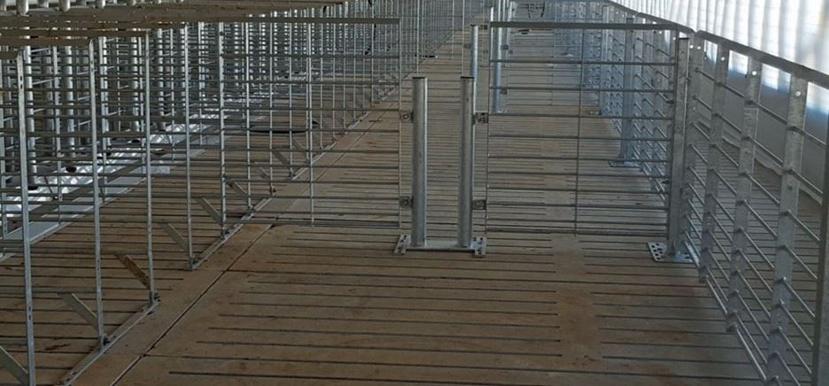 2nd Generation Stanchions